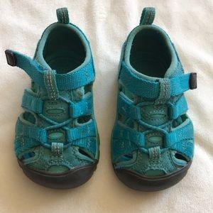 Keen toddler aqua/turquoise sandals